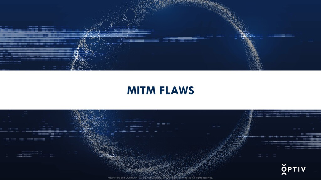MITM FLAWS