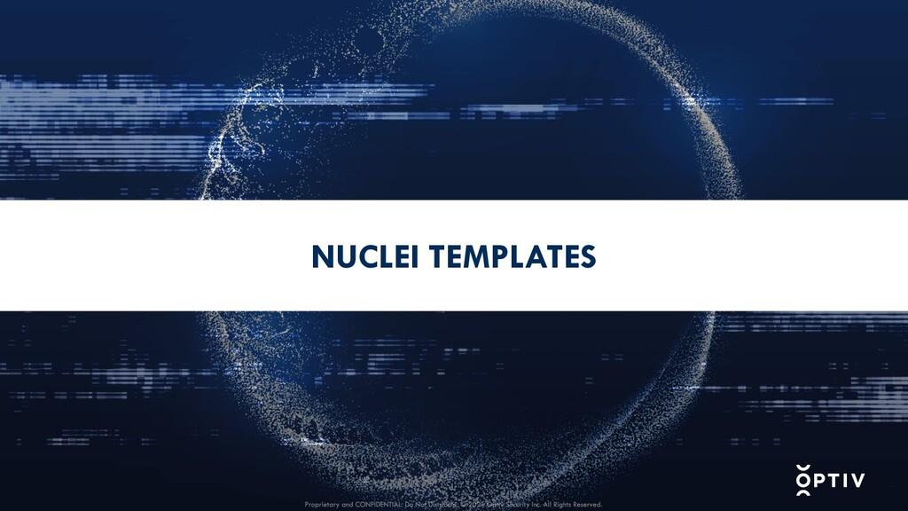 NUCLEI TEMPLATES