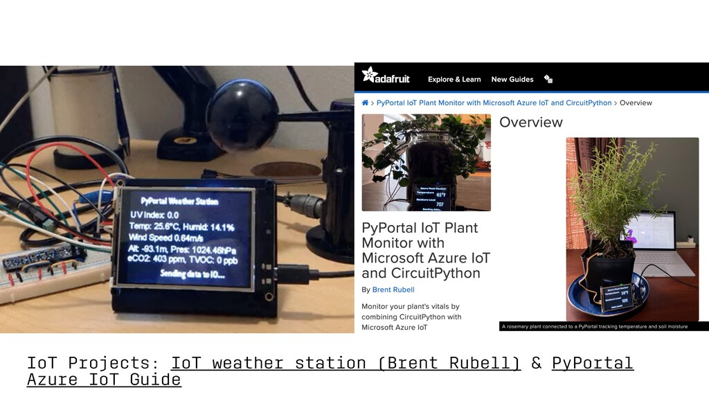 IoT Projects: IoT weather station (Brent Rubell...