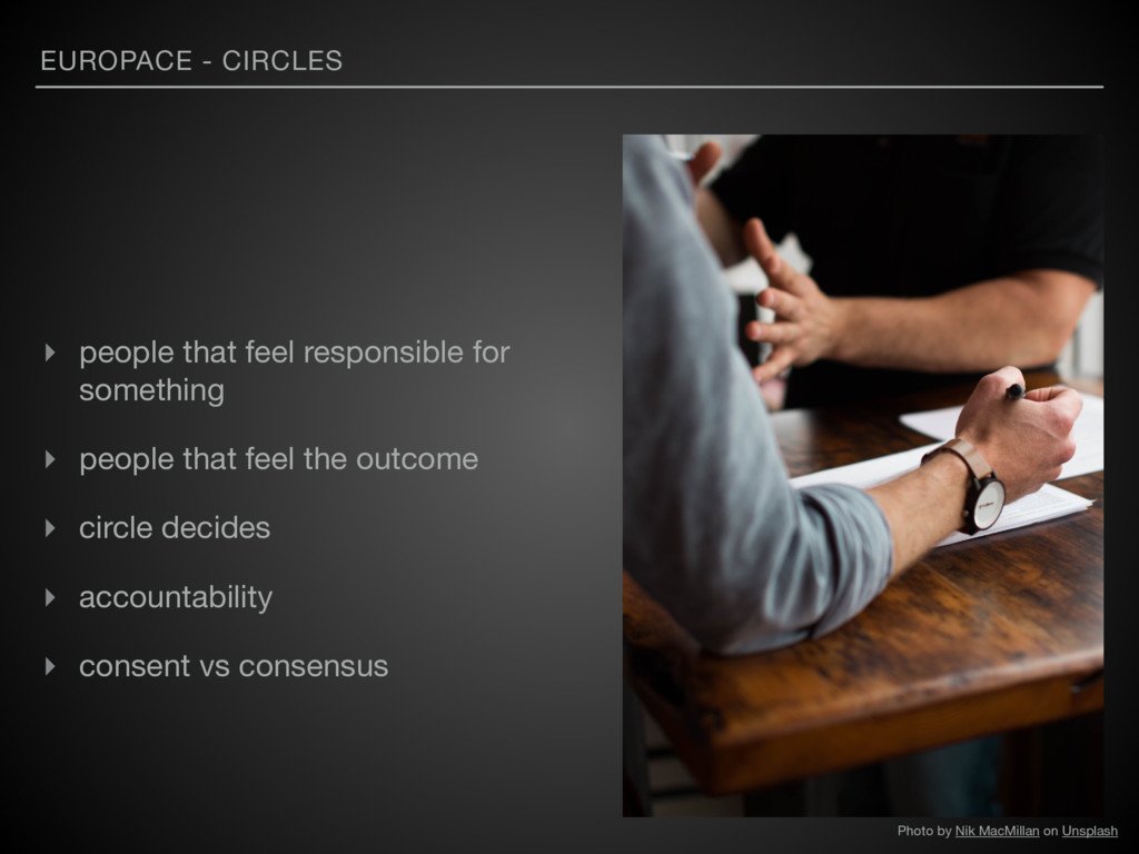 EUROPACE - CIRCLES ▸ people that feel responsib...