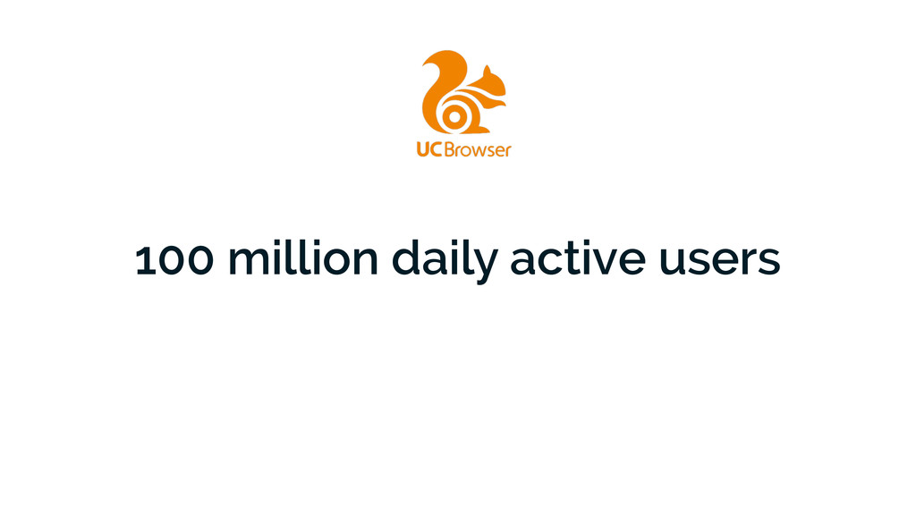 100 million daily active users