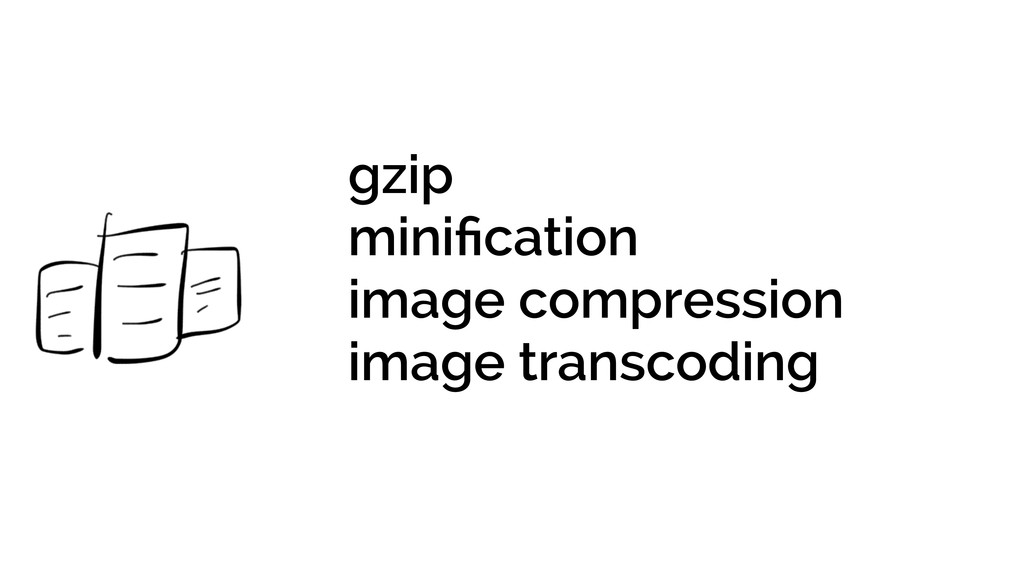 gzip minification image compression image transc...