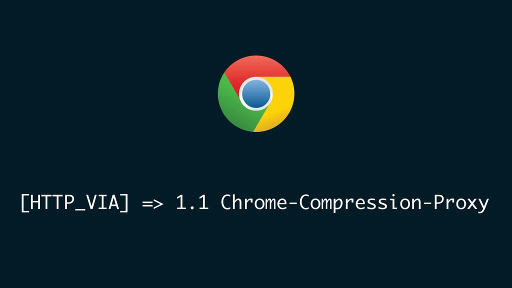 [HTTP_VIA] => 1.1 Chrome-Compression-Proxy