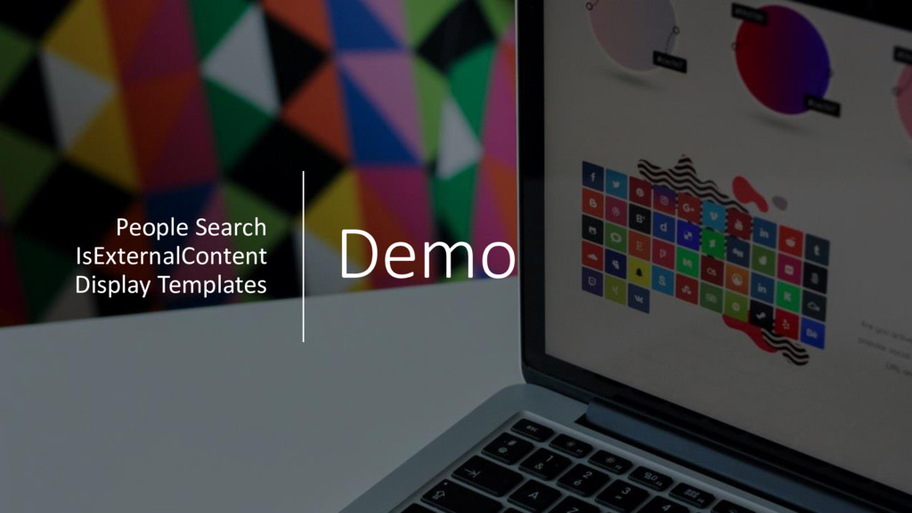 Demo People Search IsExternalContent Display Te...
