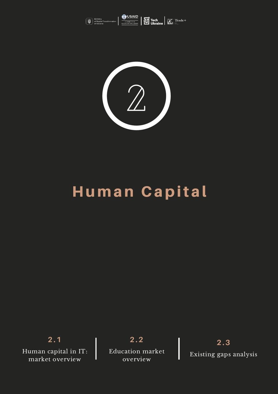 Human Capital 2. 1 Human capital in IT: market ...