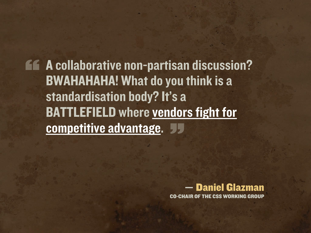 A collaborative non-partisan discussion? BWAHAH...