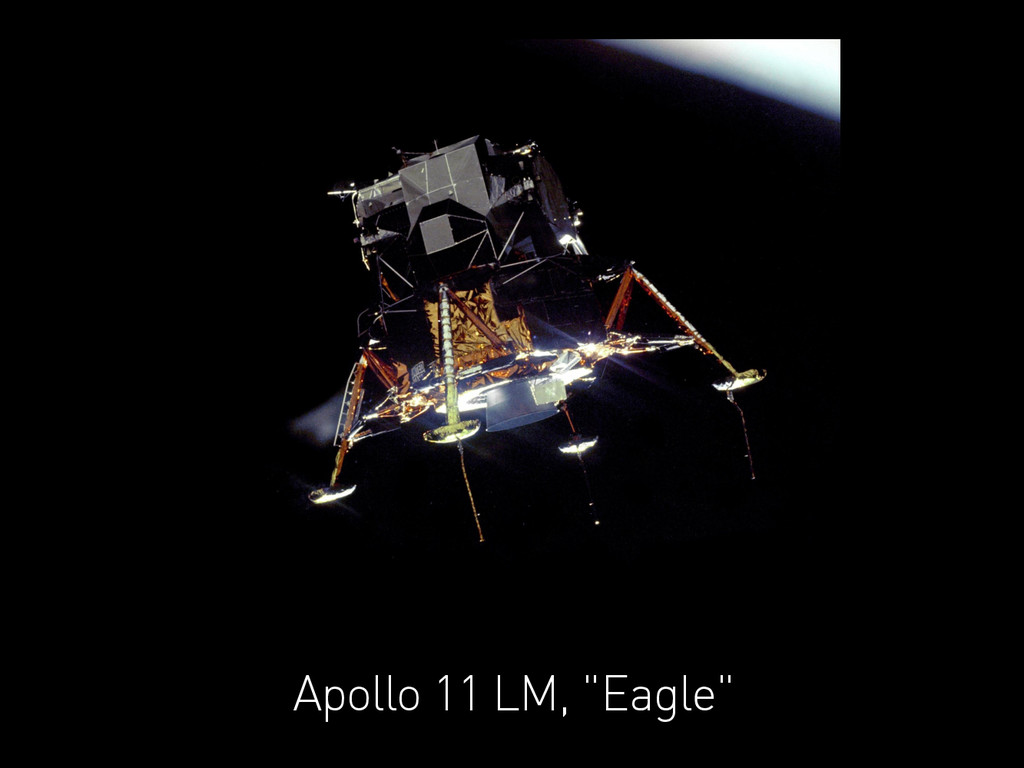 "Apollo 11 LM, ""Eagle"""