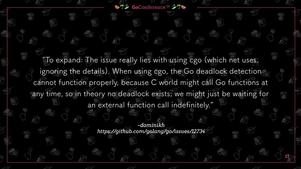 GoConference'19  17 –dominikh https://github.c...