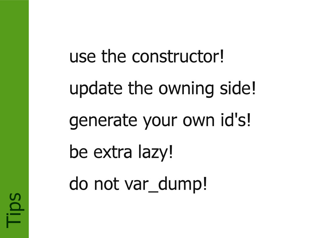 Tips use the constructor! update the owning sid...
