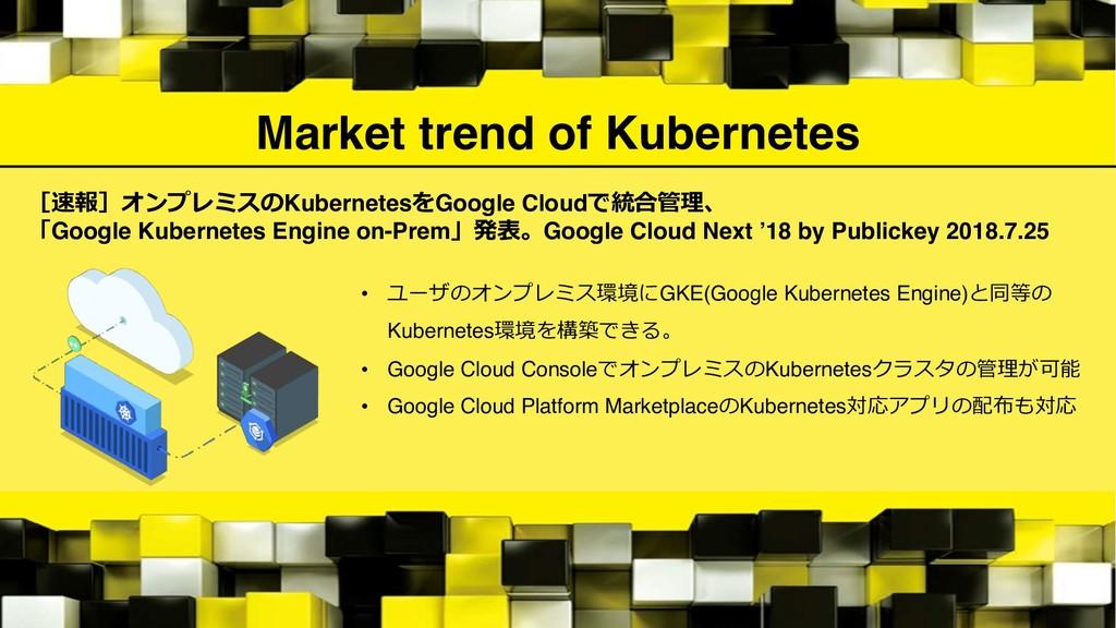 Market trend of Kubernetes  Kubernete...