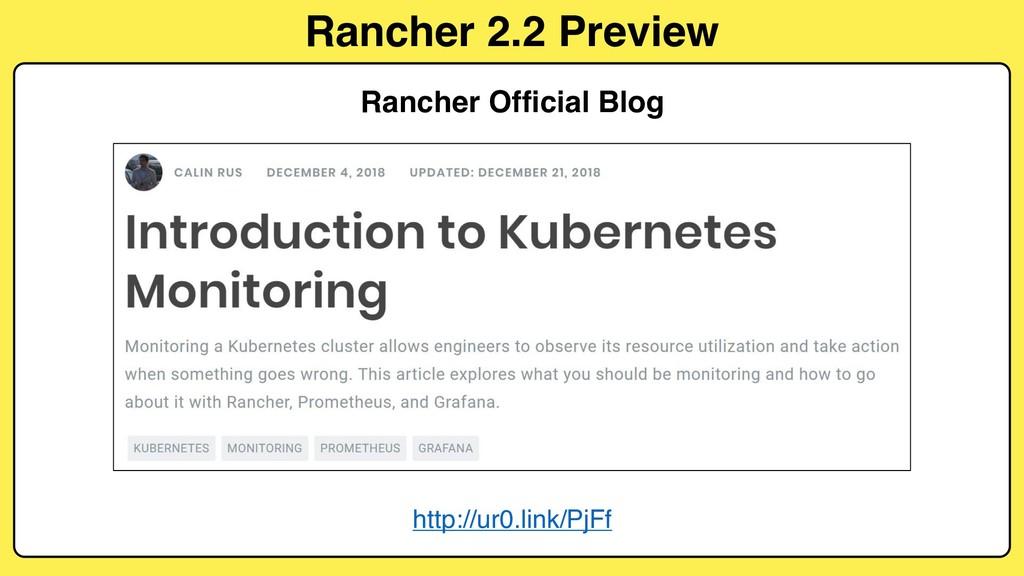 Rancher 2.2 Preview http://ur0.link/PjFf Ranche...