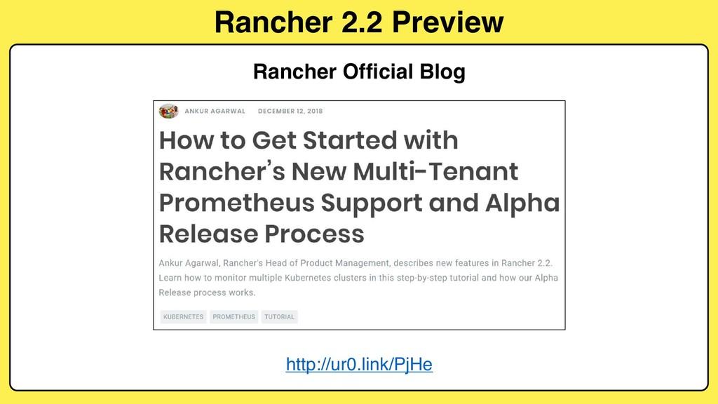 Rancher 2.2 Preview Rancher Official Blog http:...