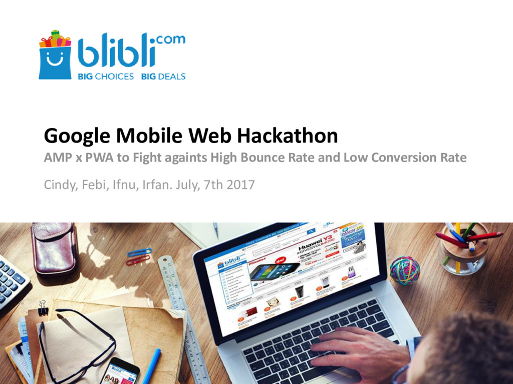 Google Mobile Web Hackathon AMP x PWA to Fight ...