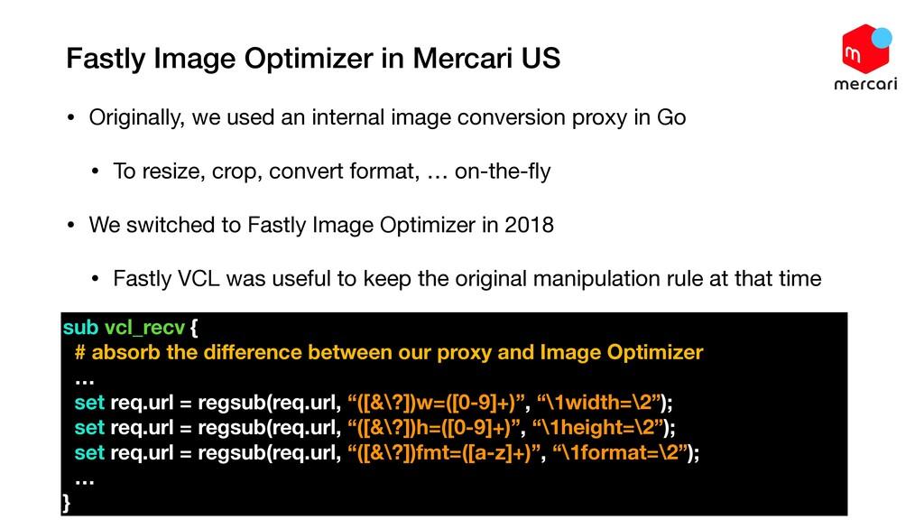 Fastly Image Optimizer in Mercari US • Original...
