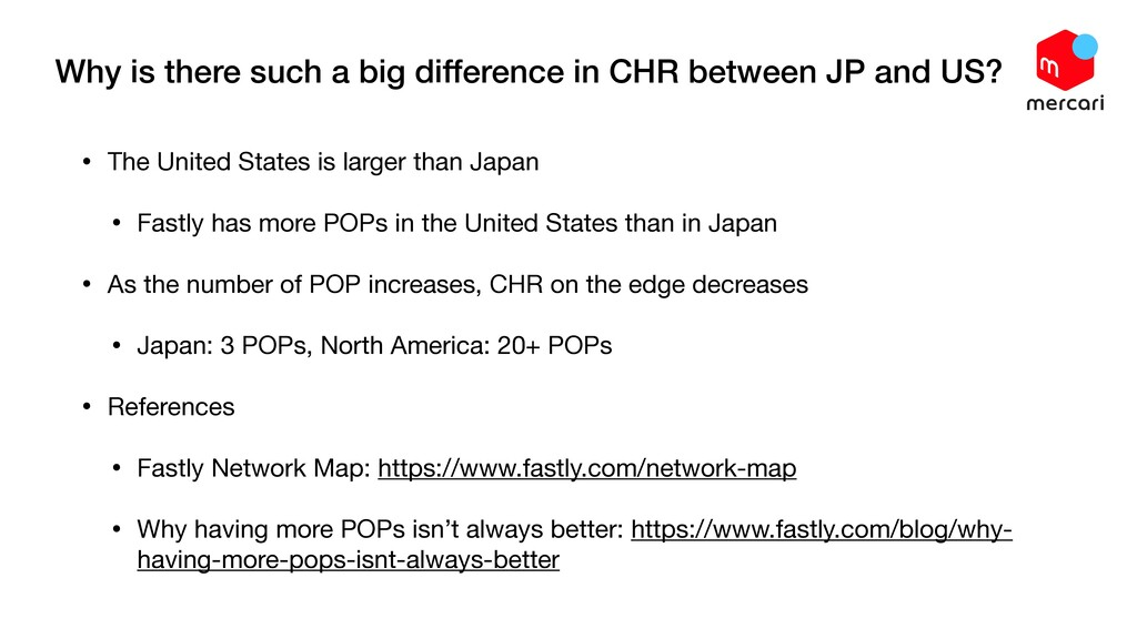 Why is there such a big difference in CHR betwe...