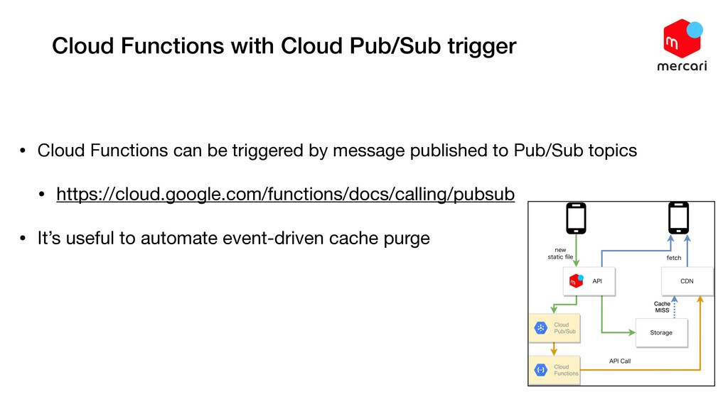 Cloud Functions with Cloud Pub/Sub trigger • Cl...