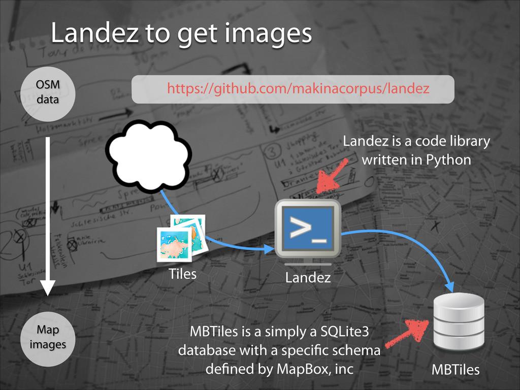 Landez to get images Map images OSM data https:...