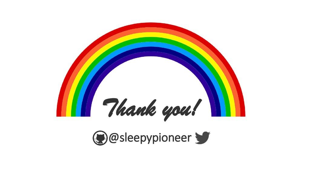 @sleepypioneer Thank you!