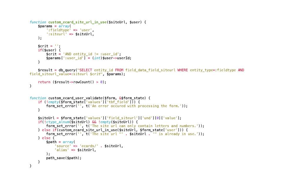 function custom_ecard_site_url_in_use($siteUrl,...