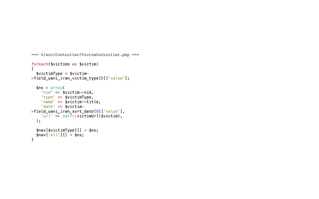 === 6/src/Controller/VictimController.php ===! ...