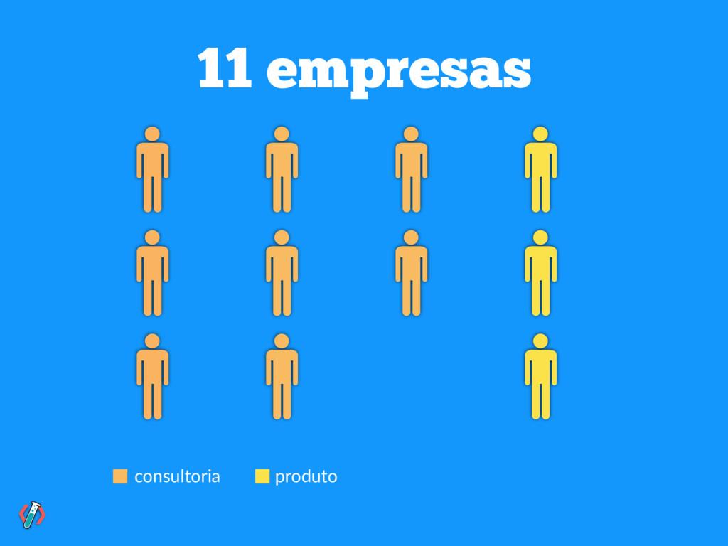 consultoria produto 11 empresas