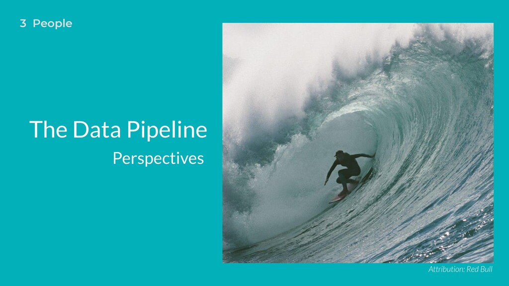 The Data Pipeline Perspectives Attribution: Red...