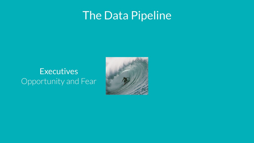 The Data Pipeline Executives   Opportunity and ...