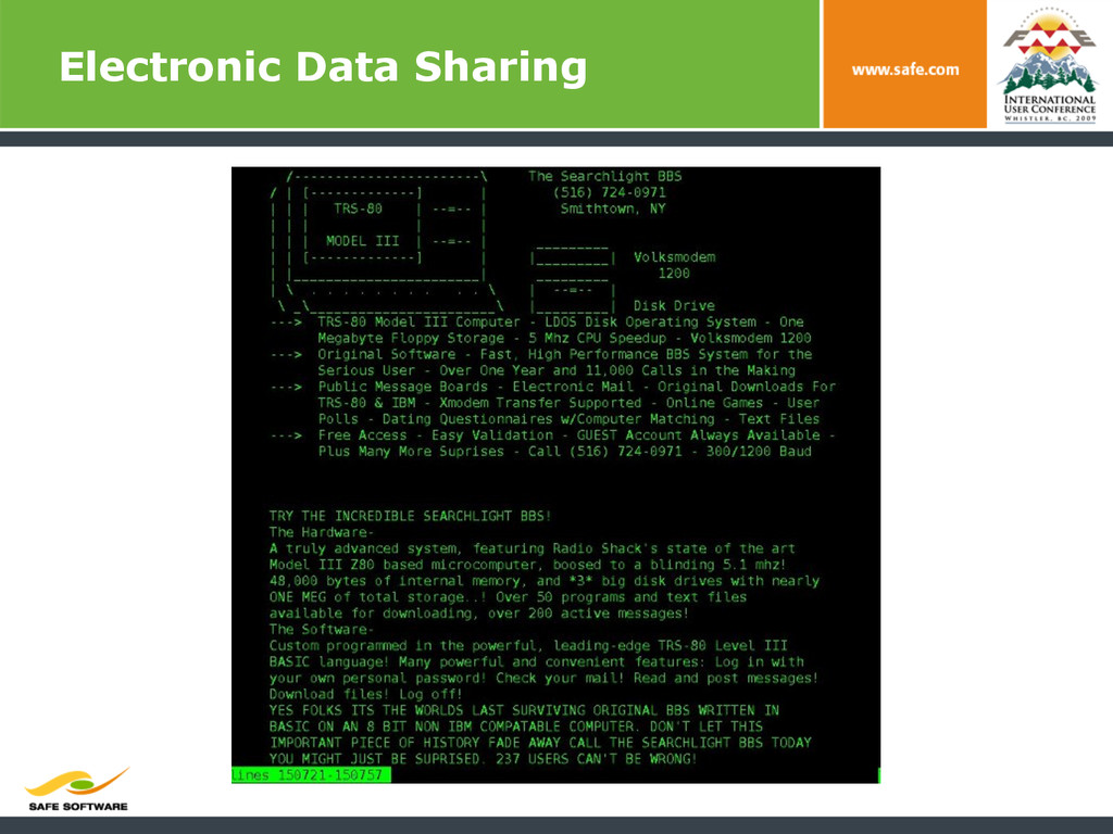 Electronic Data Sharing