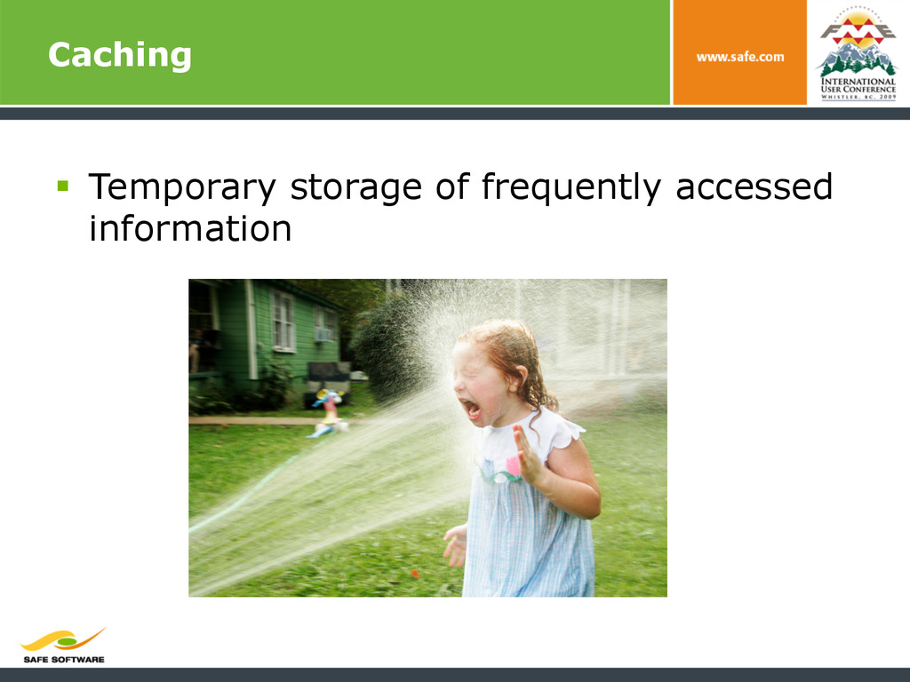 Caching § Temporary storage of frequently acc...