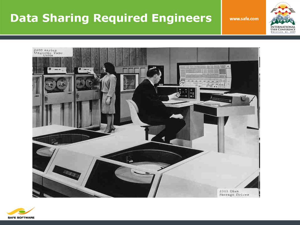 Data Sharing Required Engineers