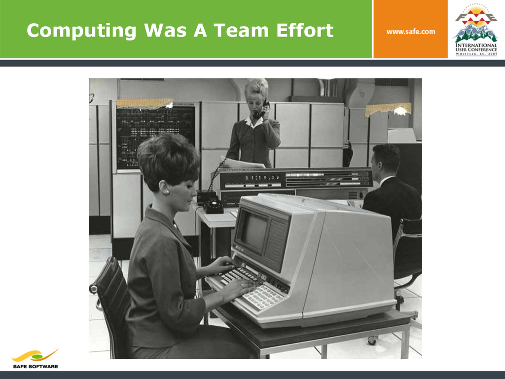 Computing Was A Team Effort