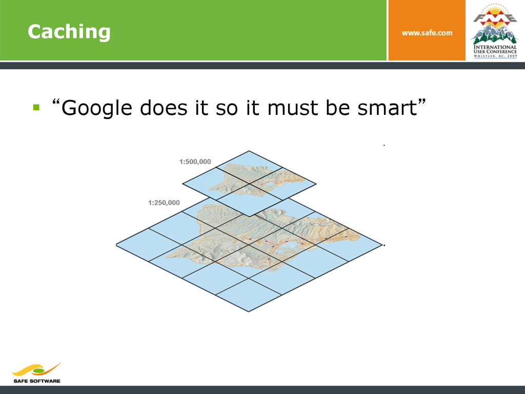 """Caching § """"Google does it so it must be smart"""""""