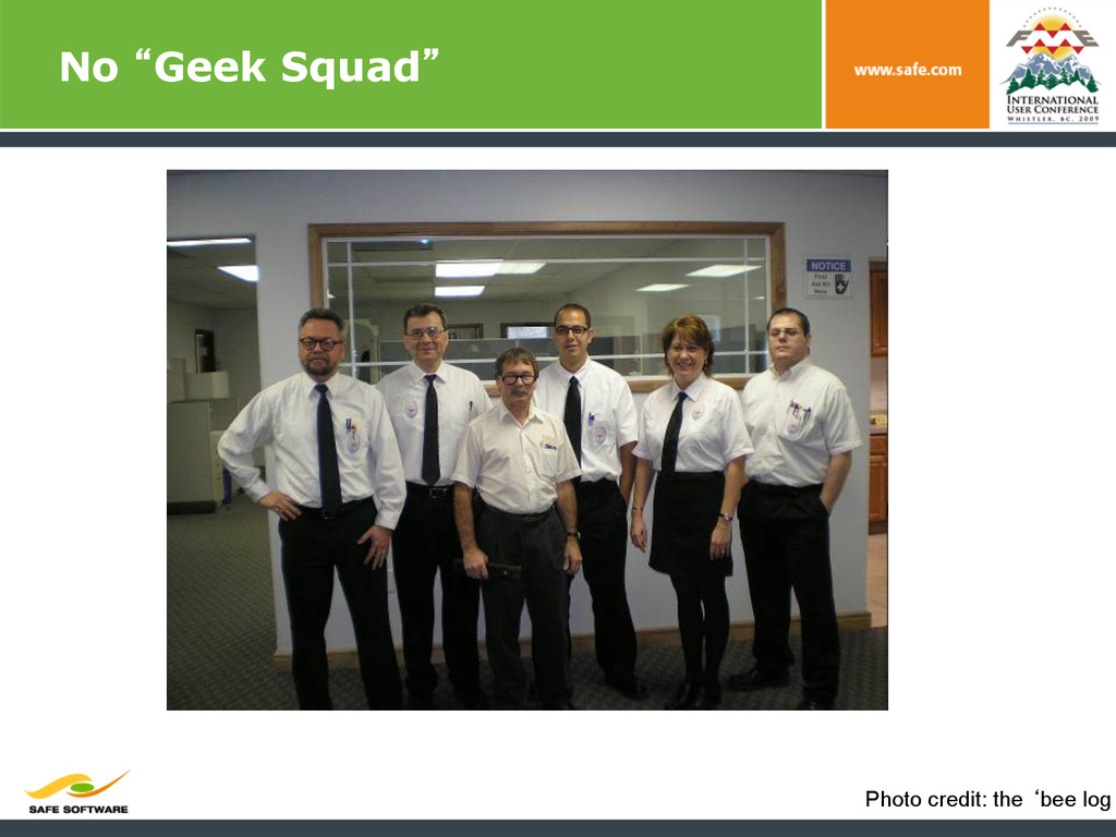 """No """"Geek Squad"""" Photo credit: the 'bee log"""