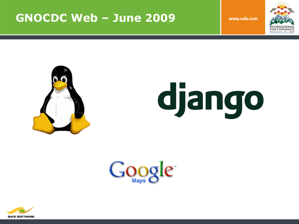 GNOCDC Web – June 2009