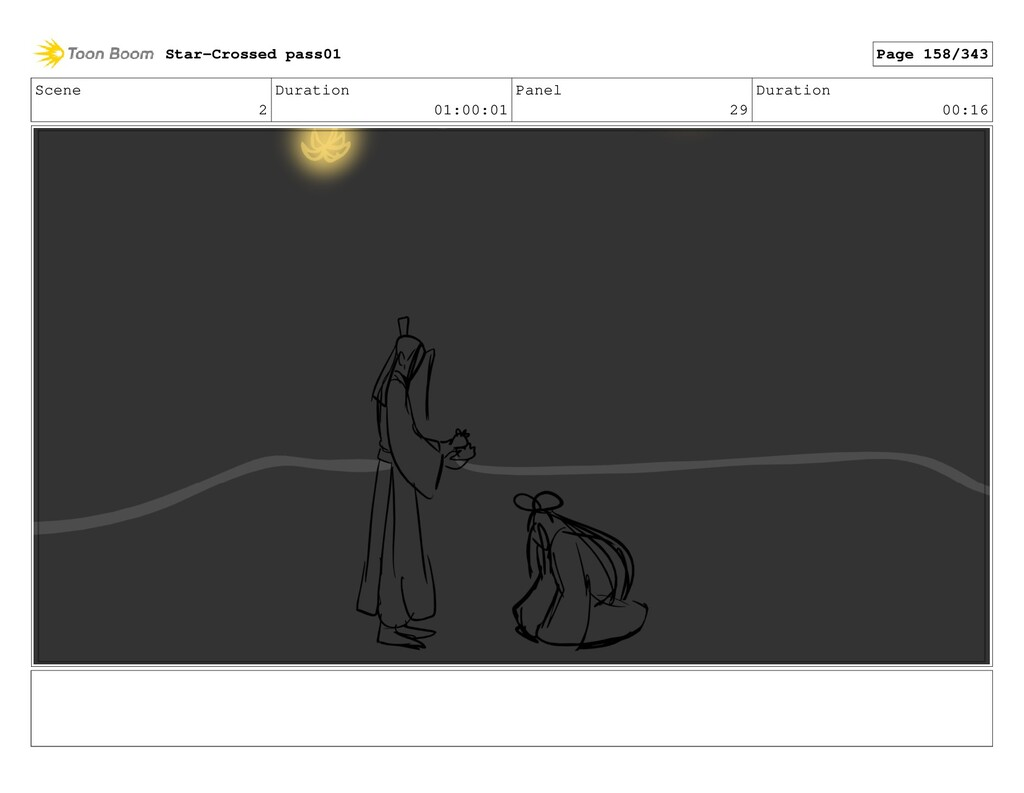 Scene 2 Duration 01:00:01 Panel 29 Duration 00:...