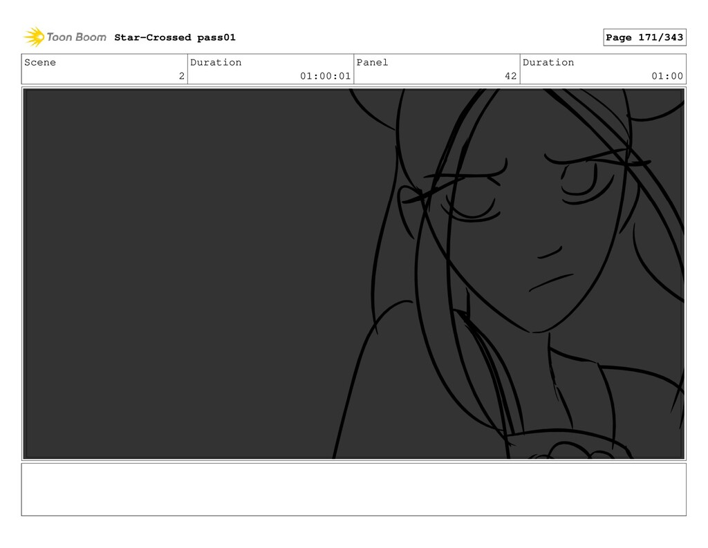 Scene 2 Duration 01:00:01 Panel 42 Duration 01:...