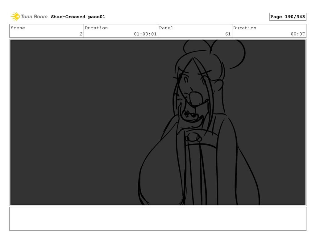 Scene 2 Duration 01:00:01 Panel 61 Duration 00:...
