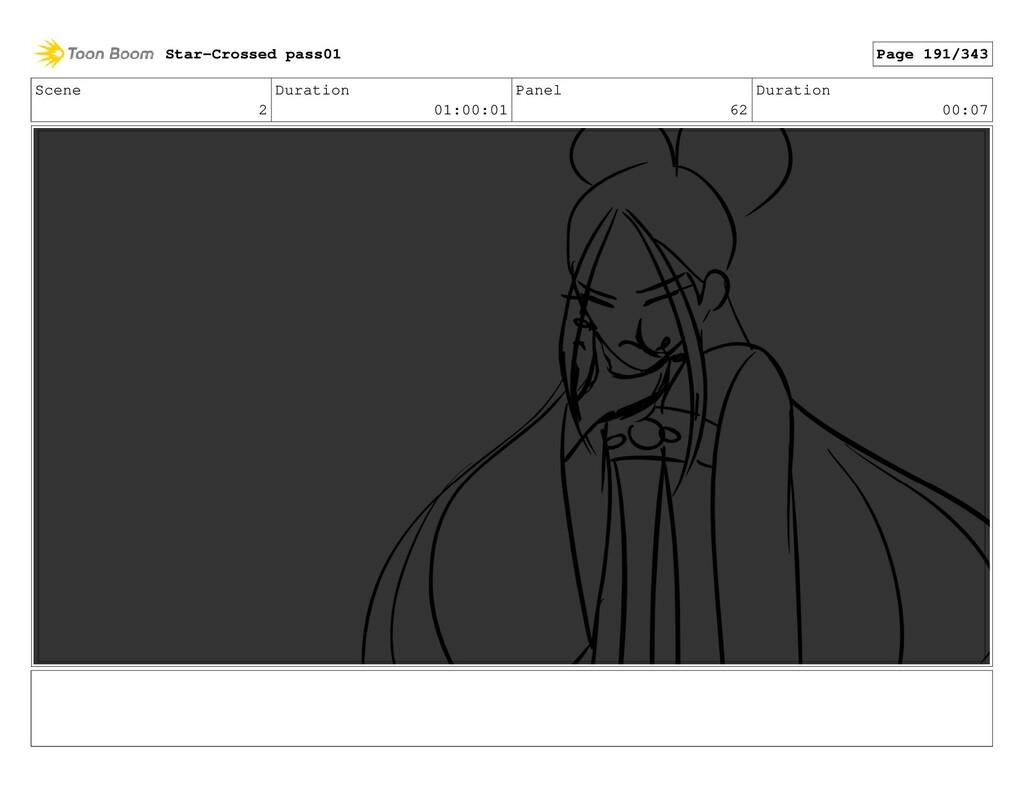 Scene 2 Duration 01:00:01 Panel 62 Duration 00:...