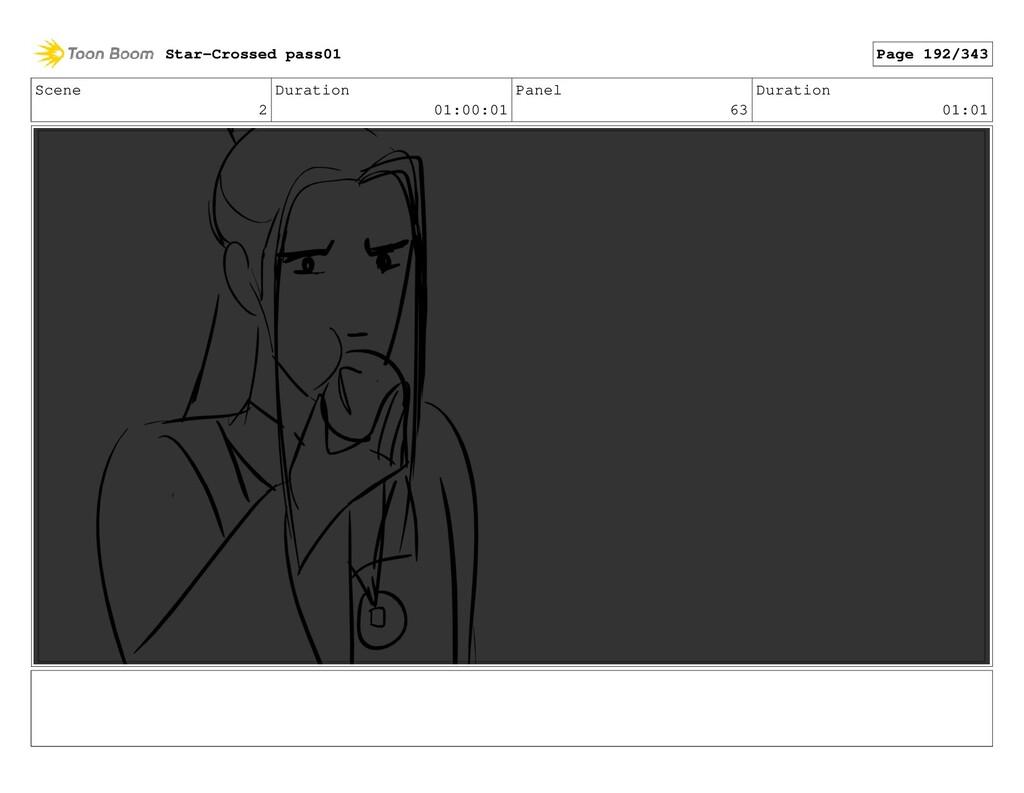 Scene 2 Duration 01:00:01 Panel 63 Duration 01:...