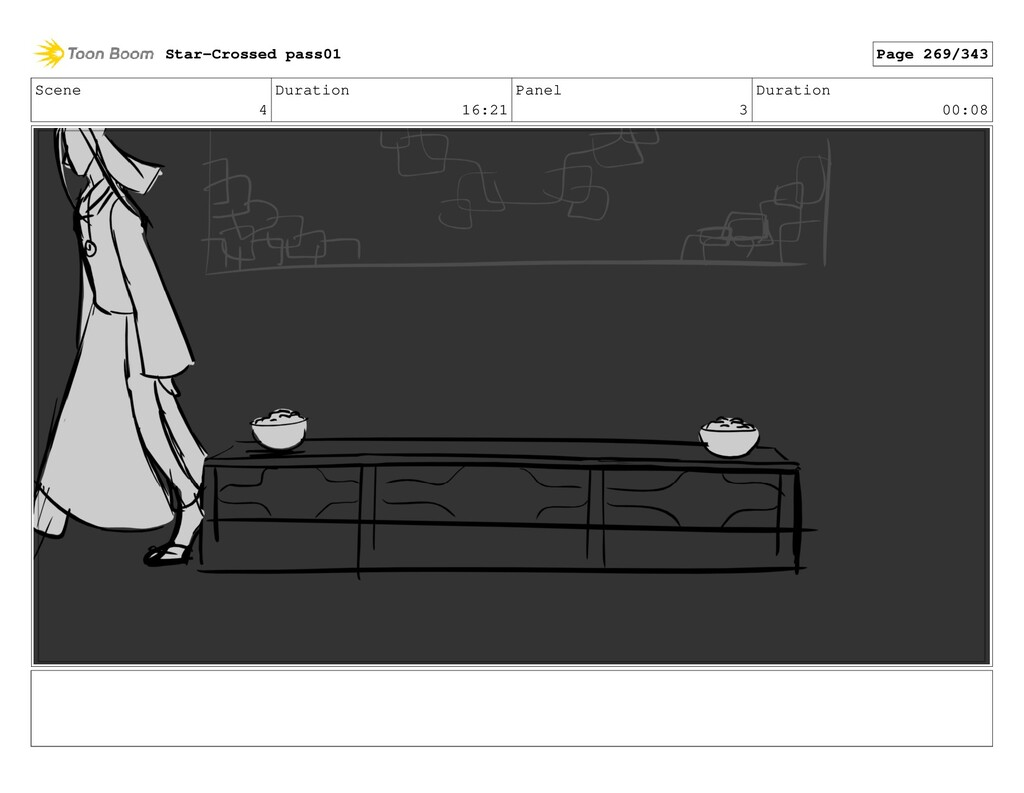 Scene 4 Duration 16:21 Panel 3 Duration 00:08 S...