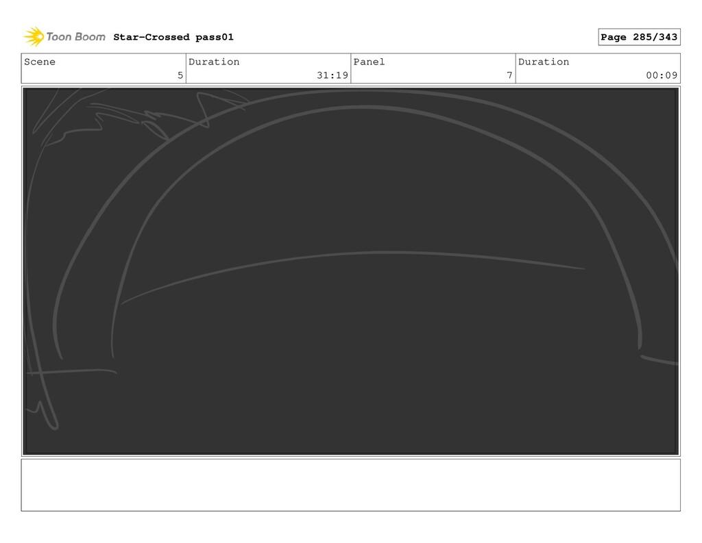 Scene 5 Duration 31:19 Panel 7 Duration 00:09 S...