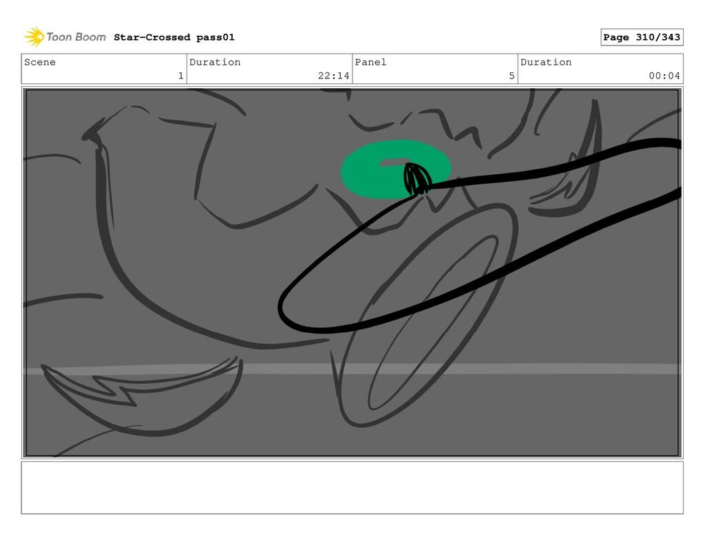 Scene 1 Duration 22:14 Panel 5 Duration 00:04 S...