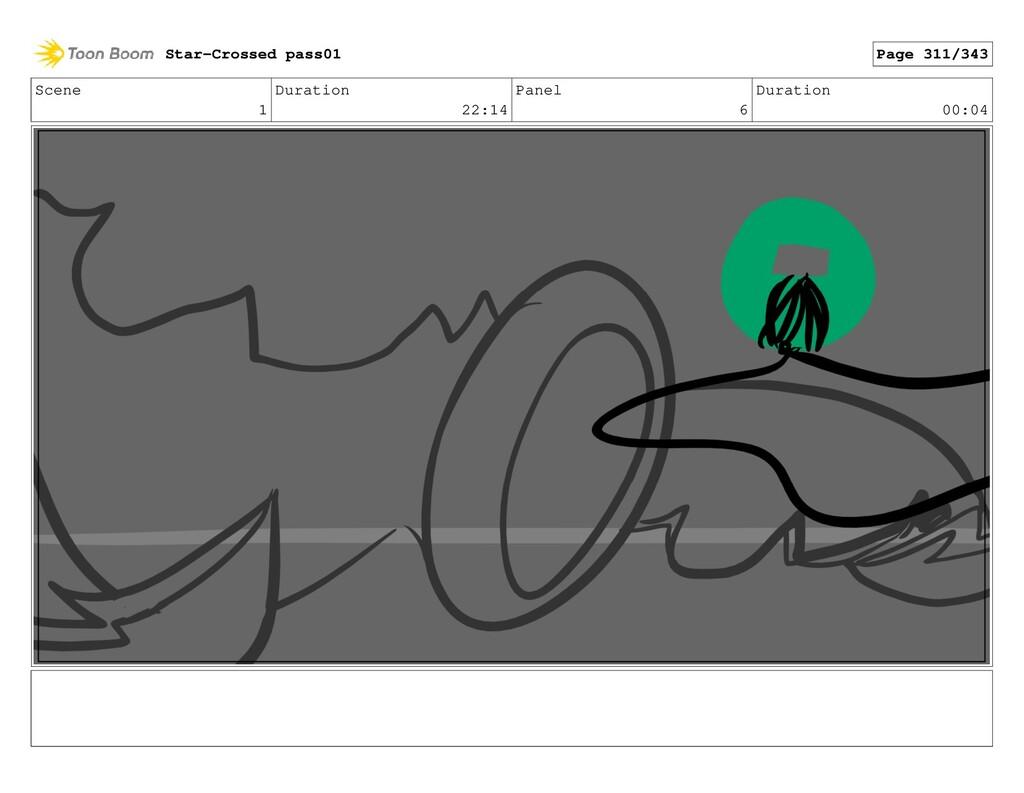 Scene 1 Duration 22:14 Panel 6 Duration 00:04 S...