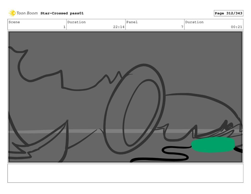 Scene 1 Duration 22:14 Panel 7 Duration 00:21 S...