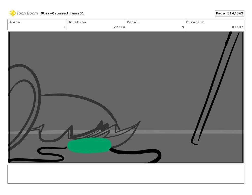 Scene 1 Duration 22:14 Panel 9 Duration 01:07 S...