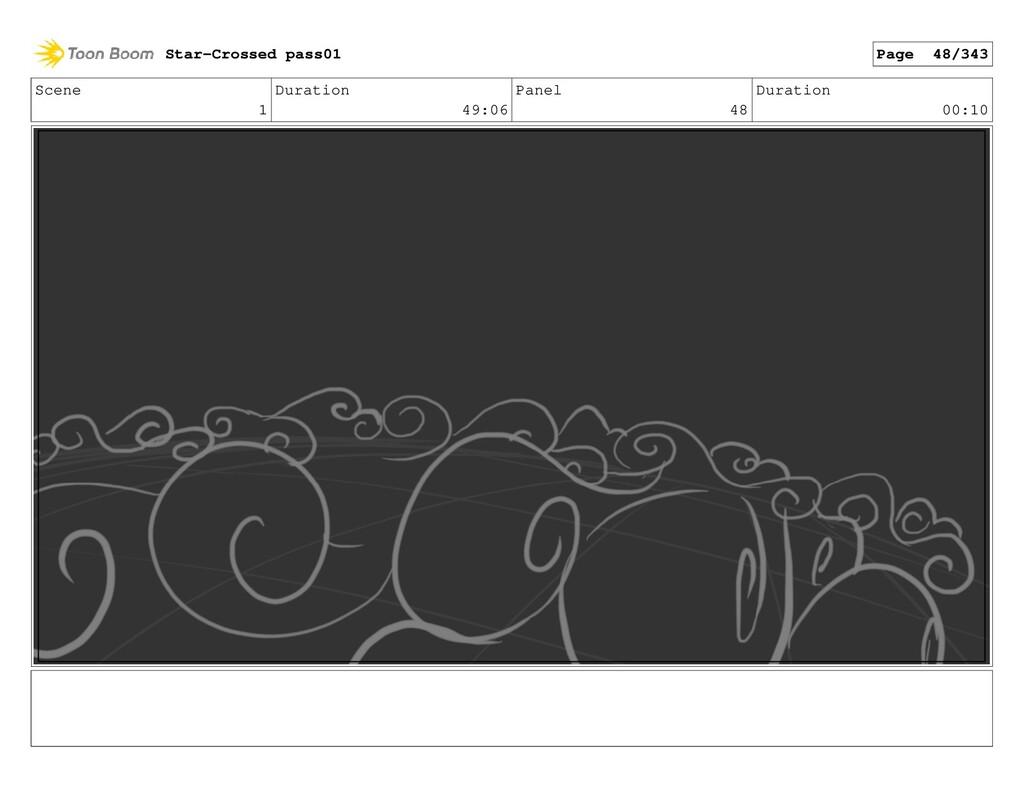 Scene 1 Duration 49:06 Panel 48 Duration 00:10 ...