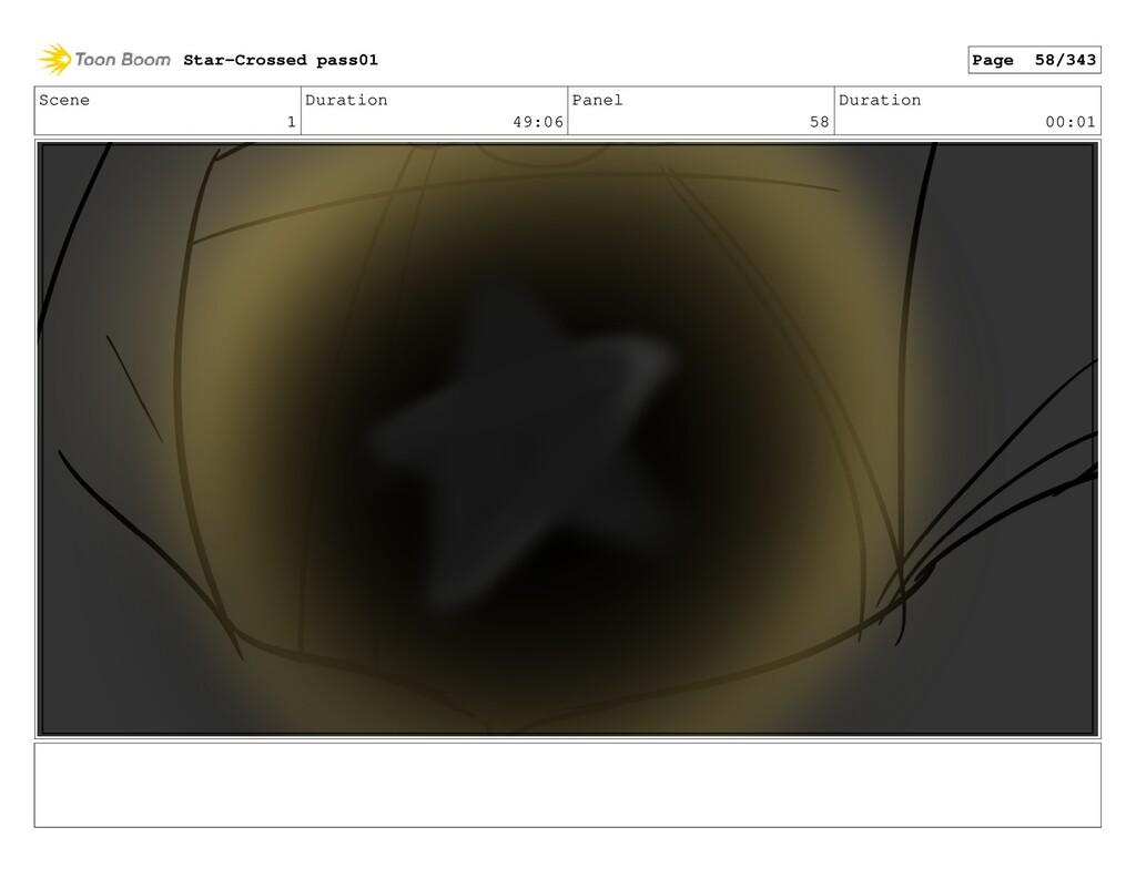 Scene 1 Duration 49:06 Panel 58 Duration 00:01 ...