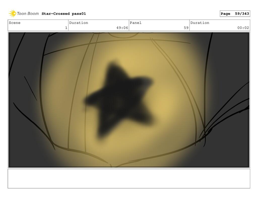 Scene 1 Duration 49:06 Panel 59 Duration 00:02 ...
