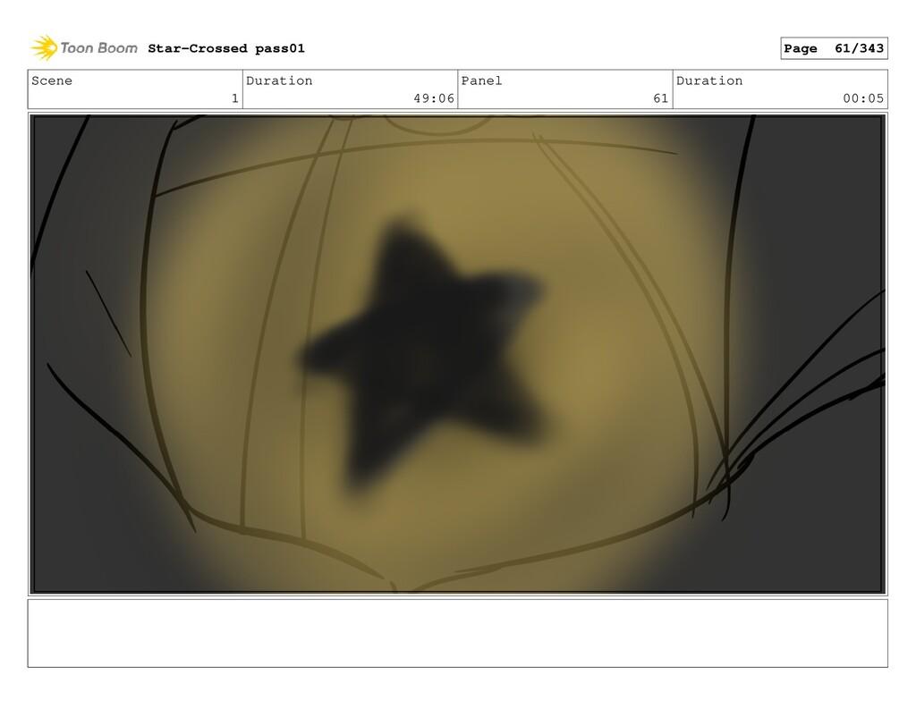 Scene 1 Duration 49:06 Panel 61 Duration 00:05 ...