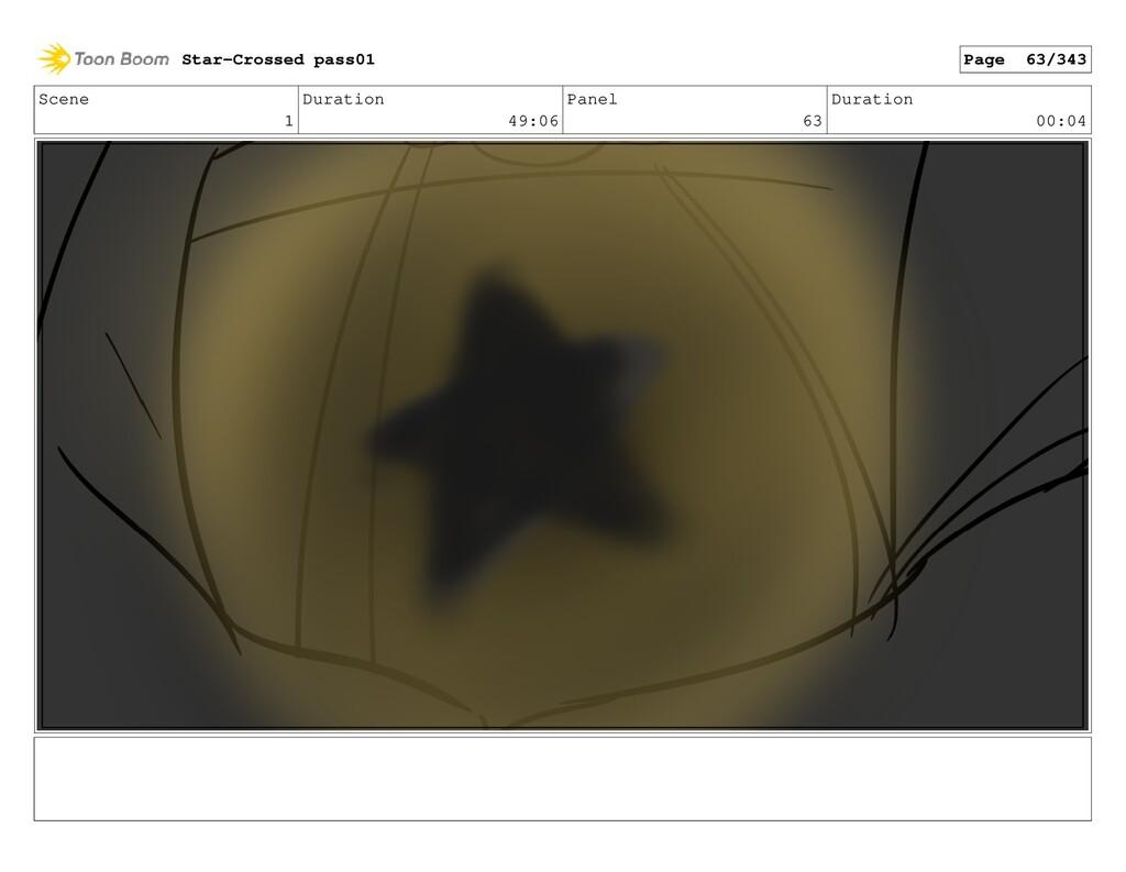 Scene 1 Duration 49:06 Panel 63 Duration 00:04 ...